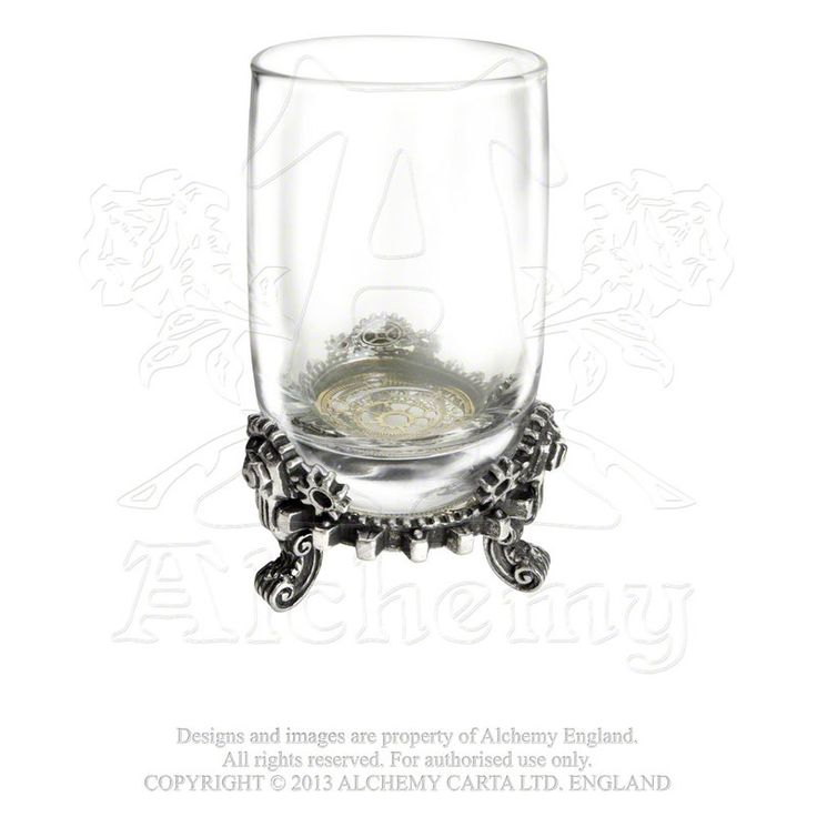 Alchemy Gears of Progress Shot Glass - Gemwaith