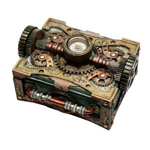 Steampunk Box with Compass - Gemwaith