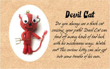 Genuine Voodoo Friends Collectable - Devil Cat