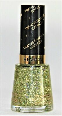 Revlon Transforming Effects Nail Enamel Top Coat 735 Golden Confetti - Gemwaith