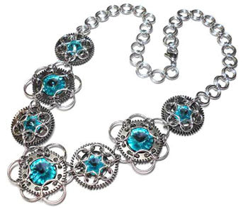 Stardust Chainmaille Necklace - Gemwaith