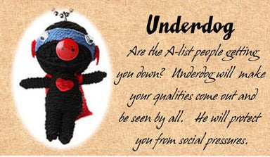 Genuine Voodoo Friends Collectable - Underdog