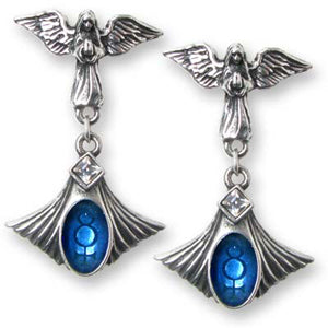 Alchemy Crux Angelicum Earrings - Pair - Gemwaith