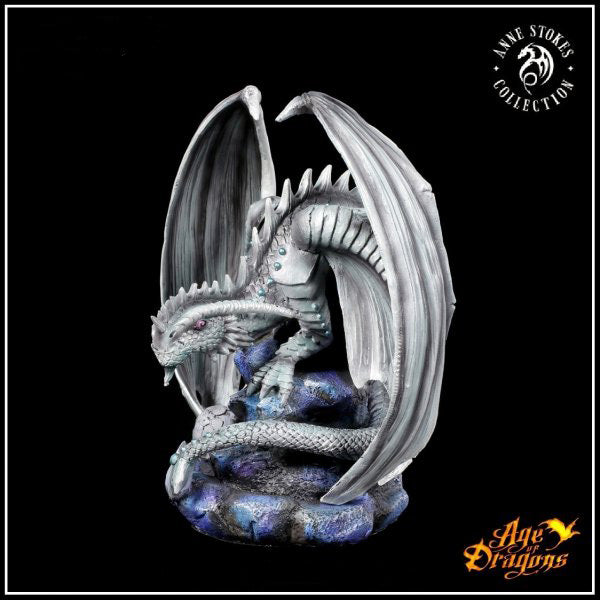Rock Dragon with Butterfly - Anne Stokes Age of Dragons Collection - Gemwaith