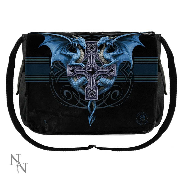 Dragon Duo Messenger Bag by Anne Stokes 40cm - Gemwaith