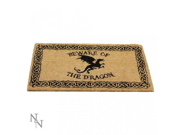 Beware of the Dragon Doormat 45 x 75 cm - Gemwaith