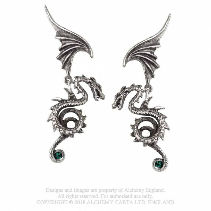 Alchemy Bestia Regalis Earrings - Gemwaith