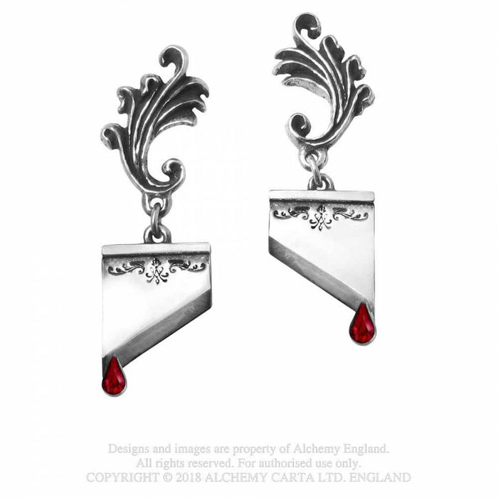 Alchemy Marie Antoinette Earrings - Pair - Gemwaith