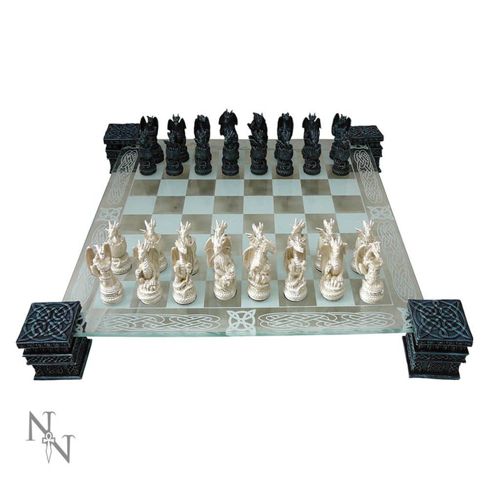 Dragon Chess Set 43cm - Gemwaith