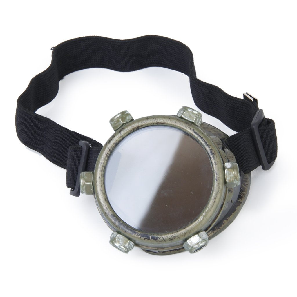 Steampunk Cyclops Goggle - Left Eye (Bronze) - Gemwaith