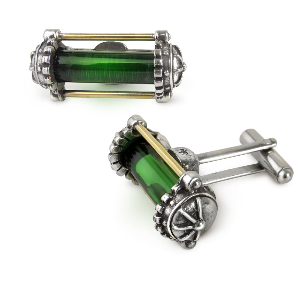 Alchemy Miasmatic Reactor Core Cuff Links - Gemwaith
