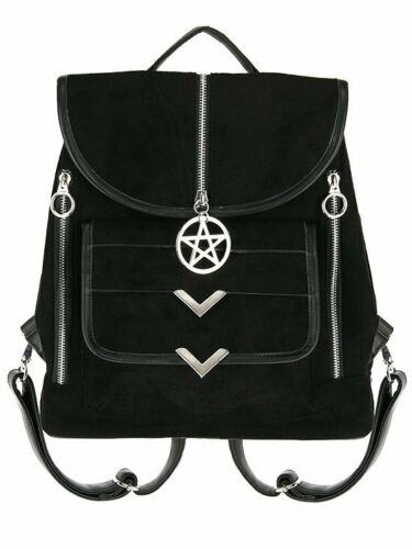 Blaire Gothic Suede Backpack