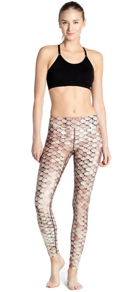 Mermaid Printed Yoga Pants