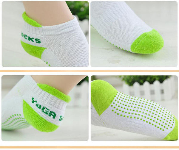 Anti Slip Rubber Dots Yoga Socks