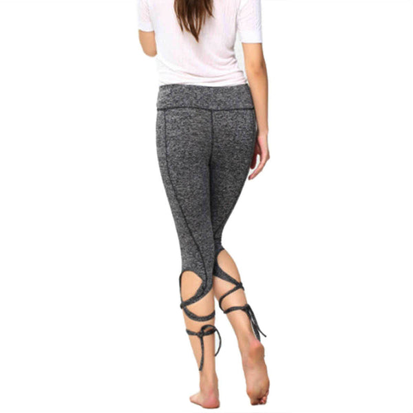 Bandage Cropped Ballet Leggings