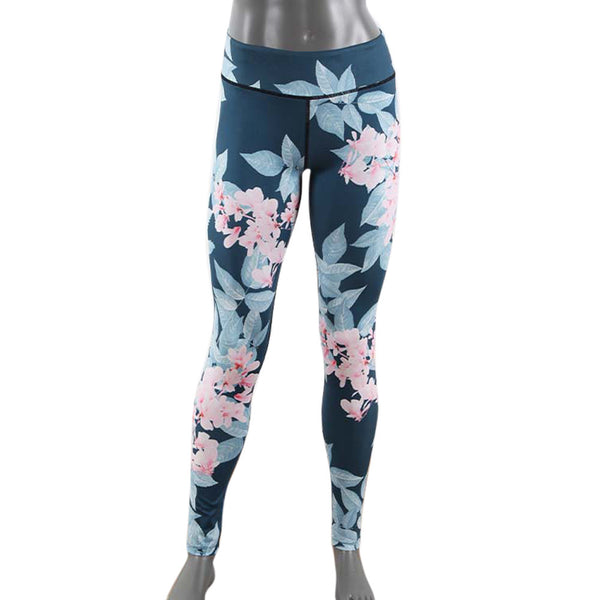 3D Print Flower Yoga Leggings