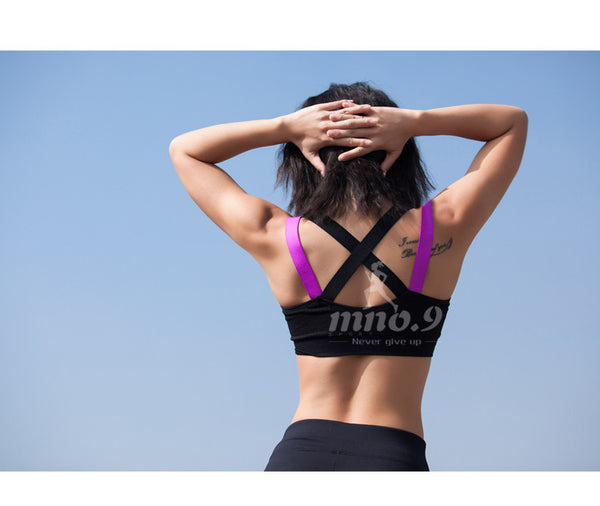 Criss Cross Yoga Sports Bra