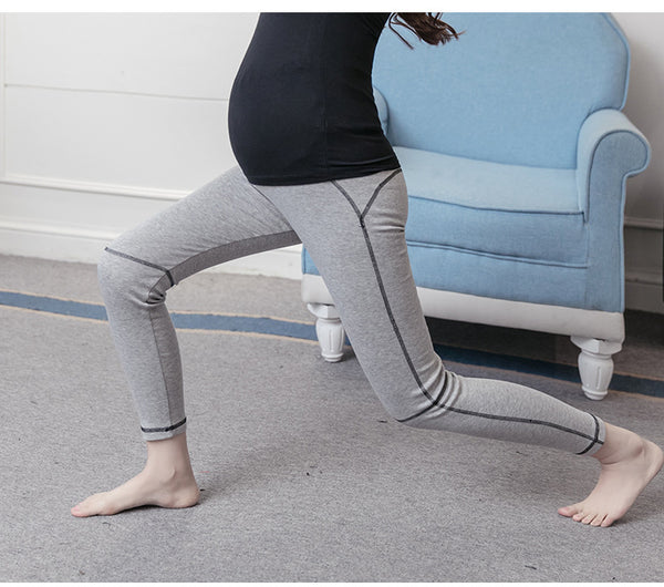 Simple Line Maternity Yoga Leggings