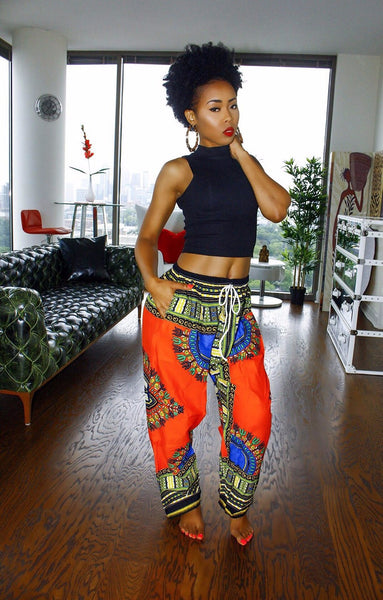 Dashiki Yoga Pants
