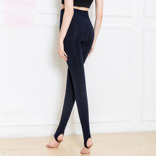 High Elastic Warm Velvet Yoga Leggings
