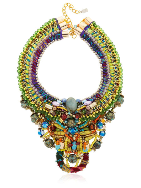 Kadin Multi-Beaded Statement Necklace