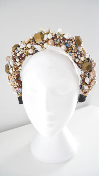 Aphrodite Multi-Beaded Embellished Headband