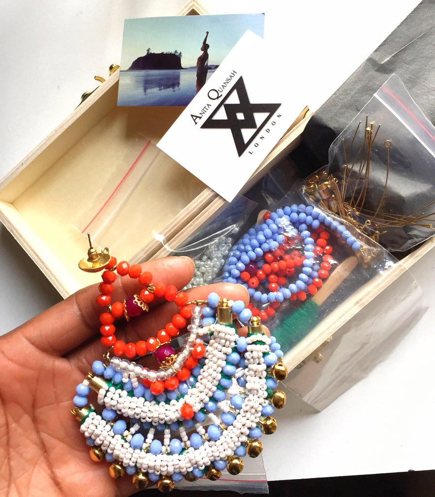 Ari Beaded DIY Drop Earring Making Kit
