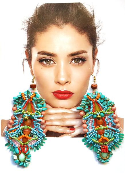 Tatiana Earrings by Anita Quansah London