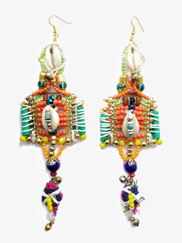 Sabil Beaded Drop Earrings
