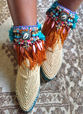 Zinnia Anklets