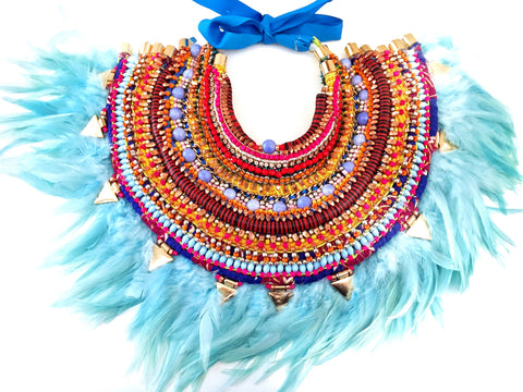 Priya Multi-Stone Beaded Embellished Neck piece