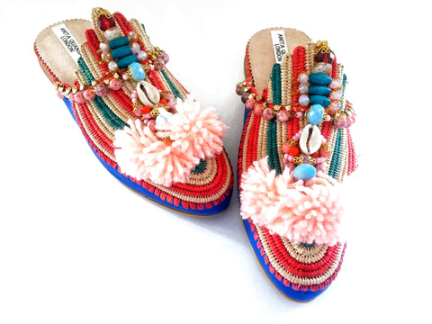 Chiara Slippers Without Pom-poms