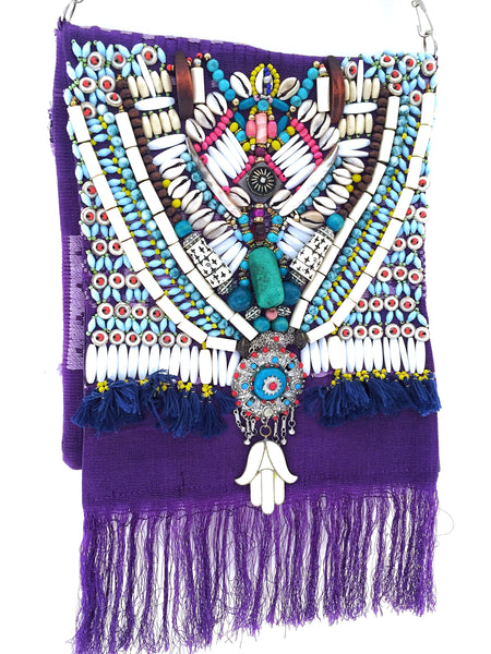 Cosima fringed cross body bag