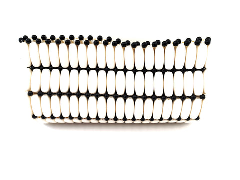 Kampala Clutch Cream/Small