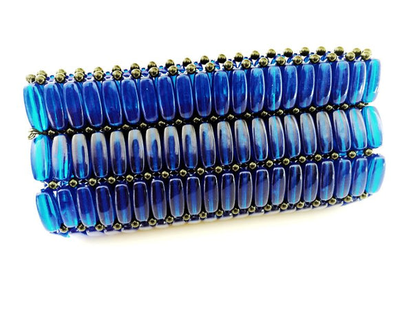 Kampala Clutch Blue/Small
