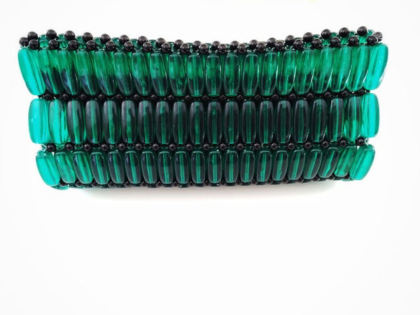 Kampala Clutch Green/Small