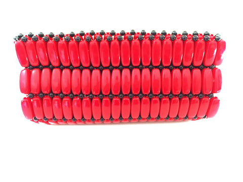 Kampala Clutch Red/Small