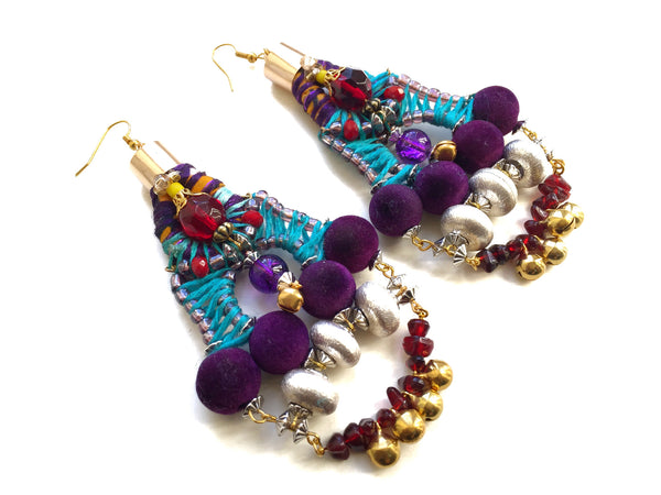 Luella Beaded Earrings