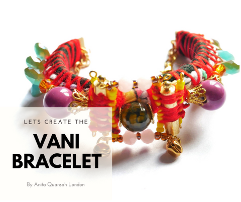 The Vani Embellished Beaded Cuff Jewellery Making Kit