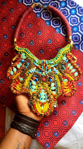 AMYA BEADED NECKLACE