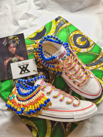 Zadie Beaded Embellished Chuck Taylor All Star Low Top Converse