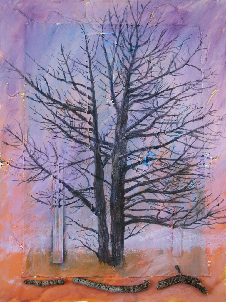 The Tree | Watercolor painting | Acrylic painting | Paintings