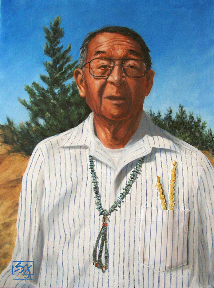 Allen, Hopi Jeweler | Portrait of Hopi People
