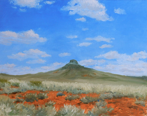 Heading to Hopi. An oil painting of the Southwest landscape | Landscape Painting