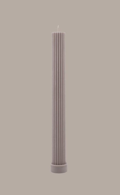 Column Pillar Candle - Beige