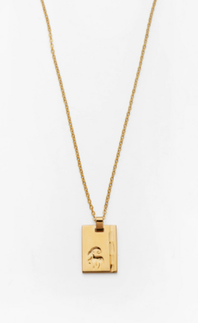 Gold Star Sign Necklace
