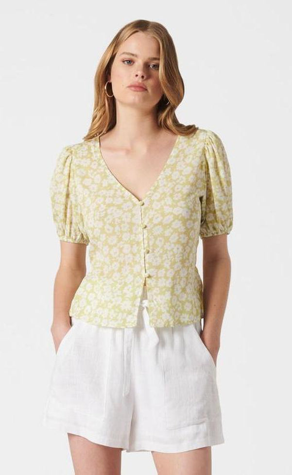 Tropicola Top - Green
