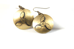 Propeller Earrings