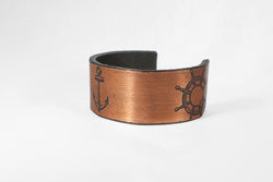 Ship Wheel Anchor Cuff