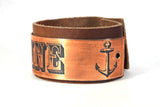 Maine Anchor Snap Bracelet